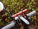 Aluminiowy uchwyt na kierownice rower / Hulajnoga Xiaomi M365/ Pro - czerwona
