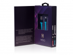 H-CLL1LL01 - Kabel lightning HEDO iPhone 5/ 5s/ 6/ 6s/ 7/ 8/ X certyfikat MFi - niebieski (oryginalny)