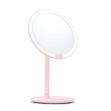 Lustro do makijażu Xiaomi Amiro z oświetleniem LED - różowe