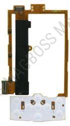 0210096 - Taśma ze złączami (z płytką) Nokia X3-00 (oryginalna)